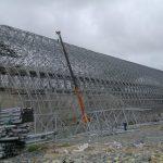 Lắp đặt giàn không gian nhà máy thép Formosa