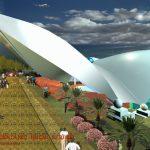 Chế tạo và lắp đặt dàn mái không gian, Khu du lịch quốc tế đảo Tuần châu, Hạ Long